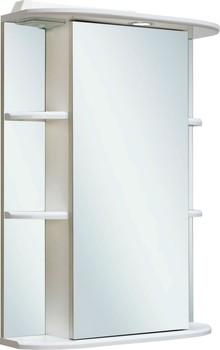Зеркало-шкаф Runo Гиро 55 белый