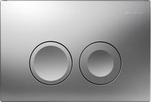 Кнопка смыва Geberit Delta 21 115.125.46.1 хром матовый