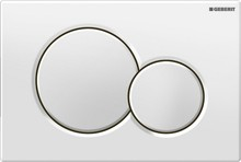 Кнопка смыва Geberit Sigma 01 115.770.11.5 белая