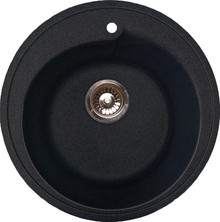 Мойка кухонная GranFest Rondo GF-R450 черный