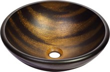 Рукомойник Kraus GV-695-19 mm коричнево-золотистый