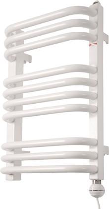 Полотенцесушитель электрический Terma Alex ALEX + Reg 2 50x54 белый, подключение правое