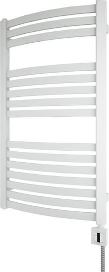 Полотенцесушитель электрический Terma Dexter+KTX4 50x86 белый, подключение правое