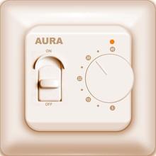 Терморегулятор Aura Technology LTC 230 кремовый