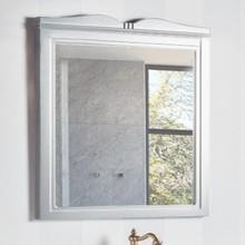 Зеркало Caprigo Borgo 80 bianco-grigio