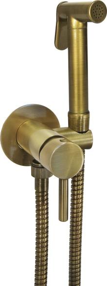 Гигиенический душ Nice Giulini Futuro FSH25/BBR со смесителем, С ВНУТРЕННЕЙ ЧАСТЬЮ
