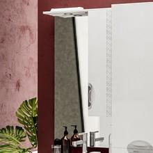 Зеркало-шкаф ValenHouse Ривьера 60 патина серебро, фурнитура хром
