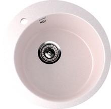 Мойка кухонная Ulgran U-405-311 светло-розовая