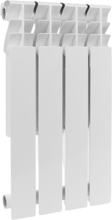 Радиатор алюминиевый Rommer Plus 500 4 секций