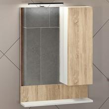 Зеркало-шкаф Comforty Рига 60 дуб сонома