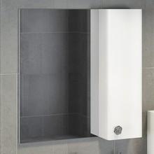 Зеркало-шкаф Comforty Флоренция 70 белый глянец