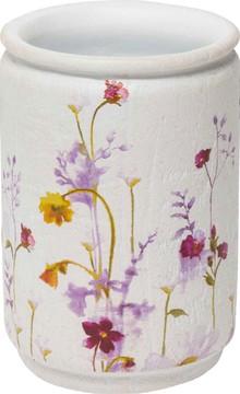 Стакан Croscill Pressed Flowers 6A0-001O0-9928/990 для зубной пасты, белый