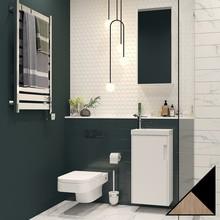 Мебель для ванной Velvex Klaufs 40.1D черная, шатанэ