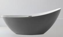 Акриловая ванна ABBER AB9233G серая